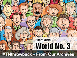 World No. 3 spot for Bharti Airtel